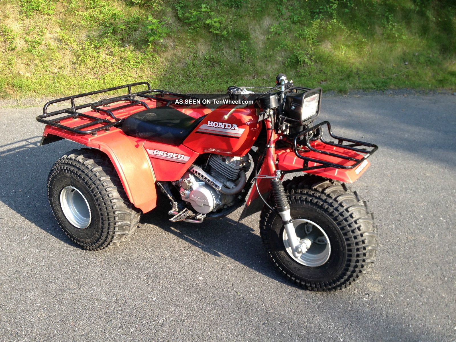 1985 Honda Big Red 250es Atc