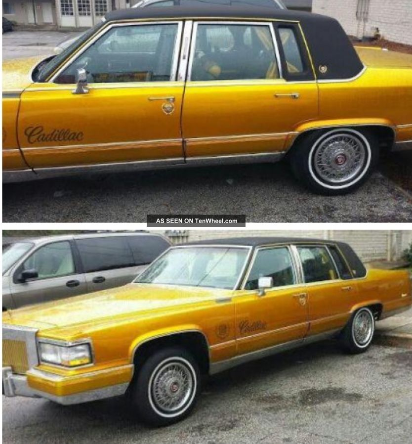 1992 Cadillac Fleetwood Base Sedan 4
