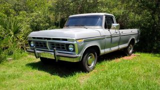 1975 Ford F100 With 77 Ford 400 Cu In Engine Fresh Rebuilt C6 With Mild Shiftkit photo