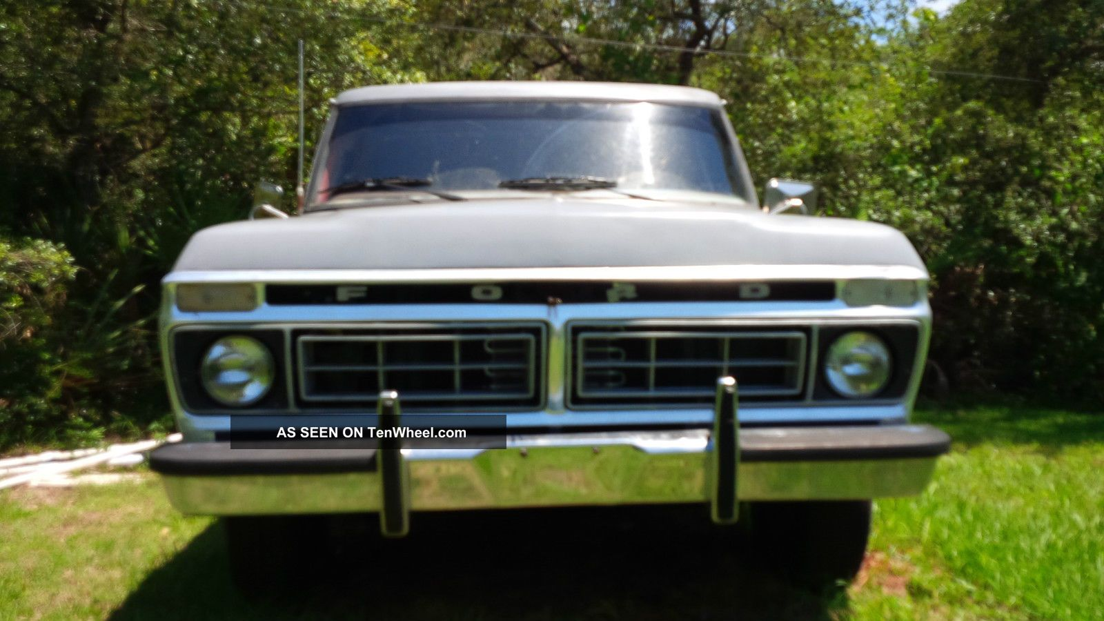 1975 Ford F100 With 77 Ford 400 Cu In Engine Fresh Rebuilt C6