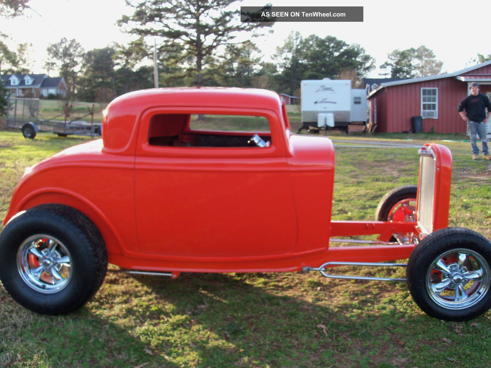 1932 ford 3 window coupe hot rod street rod