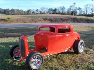 1932 Ford 3 Window Coupe Hot Rod Street Rod photo