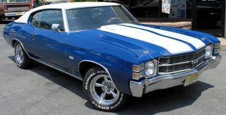 1971 Chevrolet Chevelle Ss photo