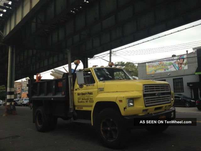 1991 Ford F600 Base 6.  6l Dump Truck Other Pickups photo
