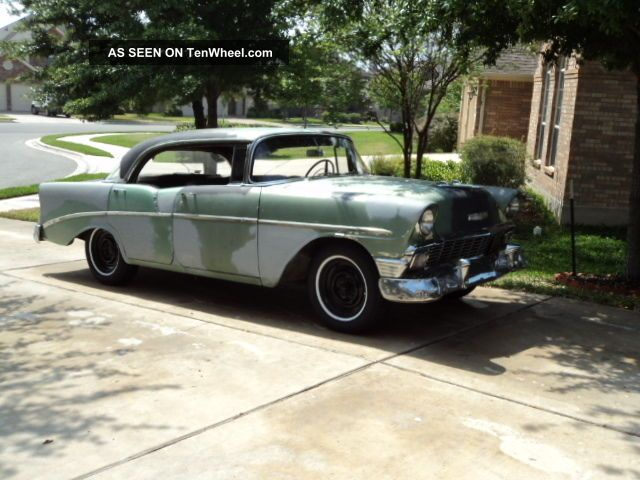 1956 chevrolet 4 door hardtop for 1956 chevy 4 door