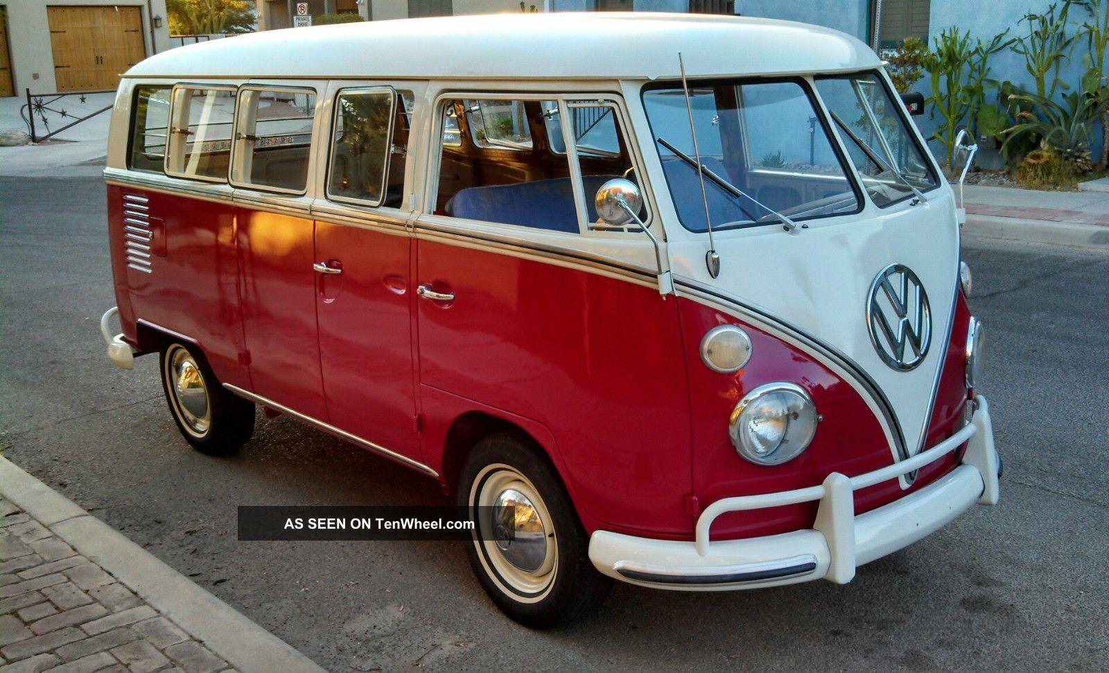 1966 deluxe vw bus 13 window camper project for 13 window vw bus