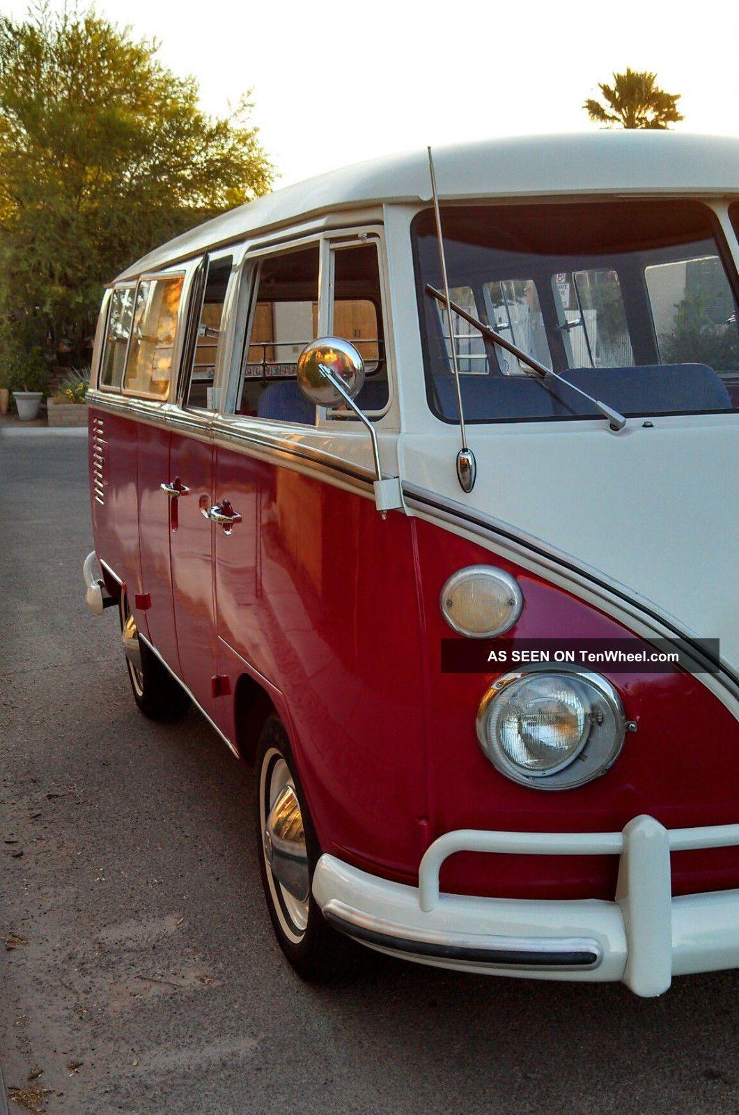 1966 deluxe vw bus 13 window camper project for 16 window vw van