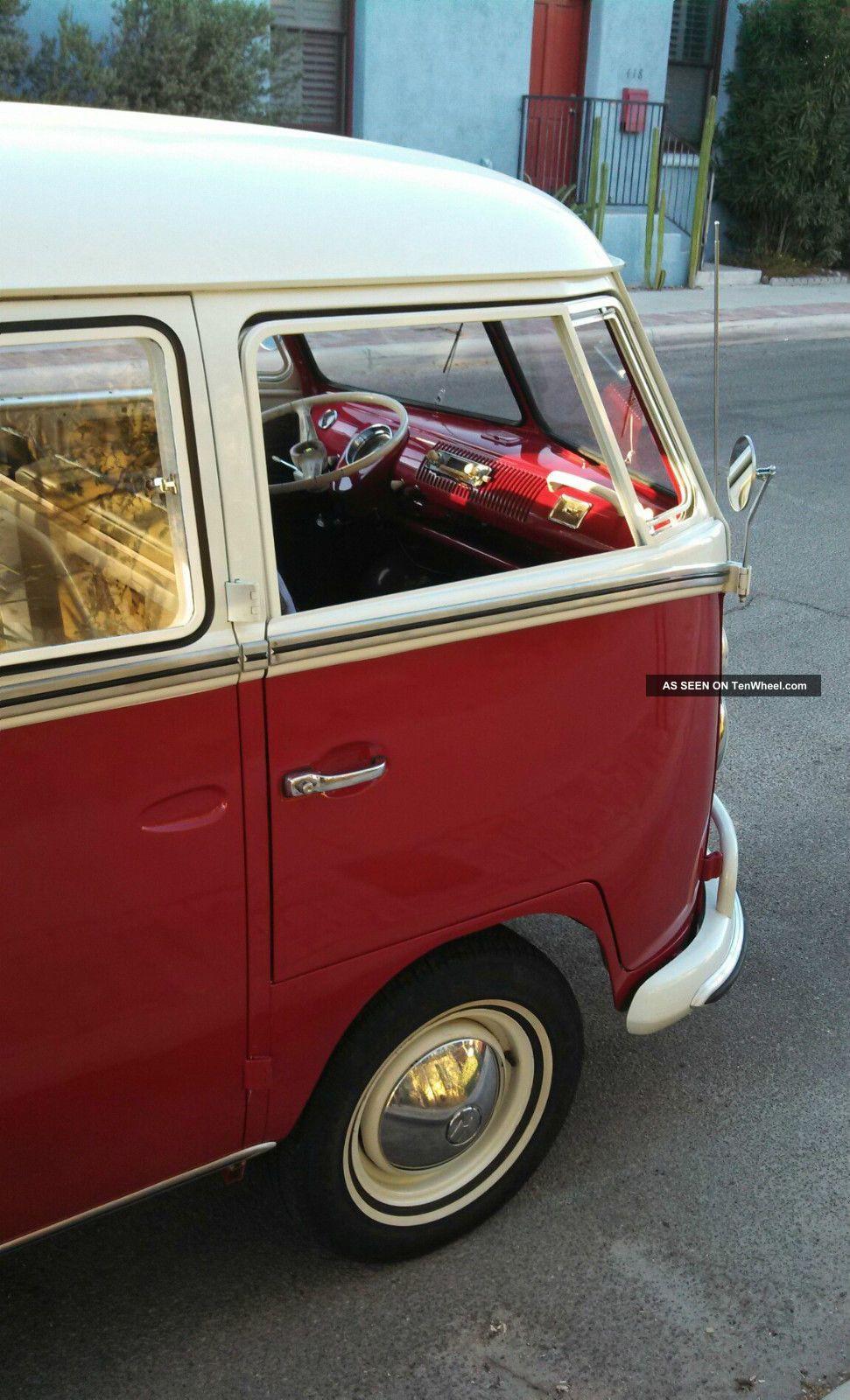 1966 deluxe vw bus 13 window camper project for 18 window vw bus