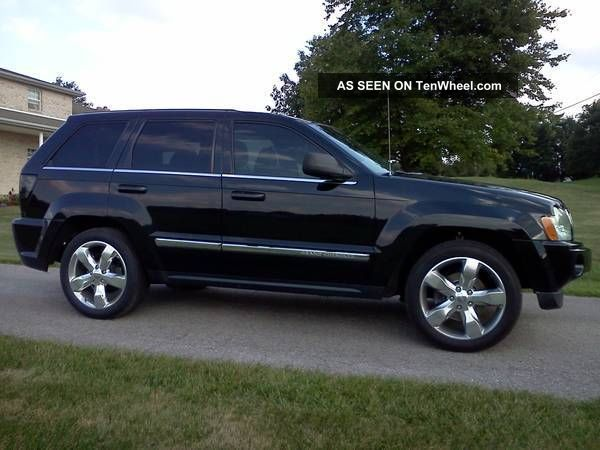 2005 jeep grand cherokee limited srt8 clone 5 7l hemi. Black Bedroom Furniture Sets. Home Design Ideas