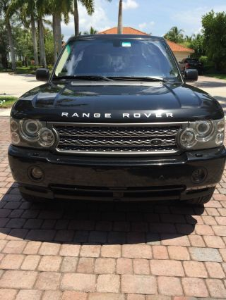 2009 Land Rover Range Rover Autobiography Black / Black photo