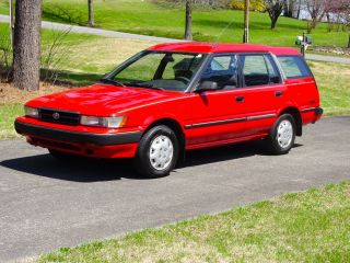 1991 Toyota Corolla Dlx All Trac Wagon 5 - Door 1.  6lv Automatic W / Od Depandable photo