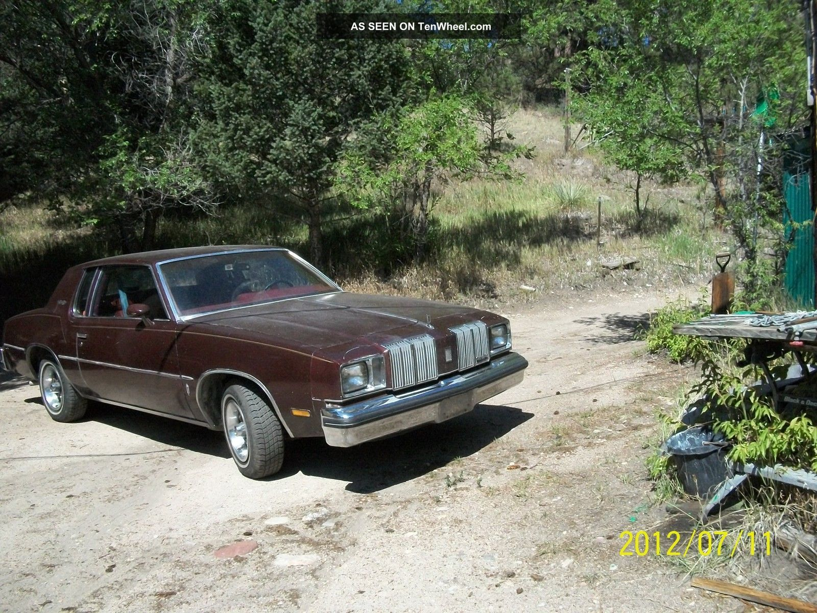 1979 Oldsmobile Cutlass Supreme Base Coupe 2 - Door 5.  0l Cutlass photo