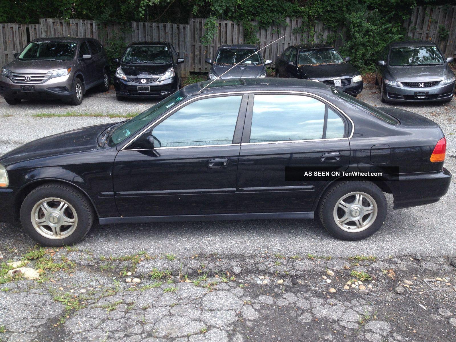 civic honda 1997 door ex sedan running 6l great enlarge