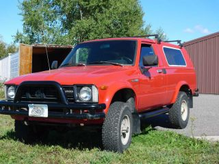 Rare 1981 Toyota Sr5 Trekker / Pickup 4 Wheel Drive 5 Speed R22 photo