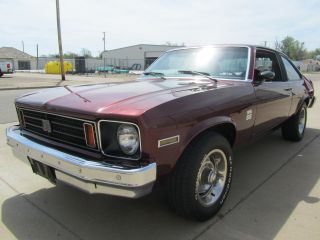1975 Chevrolet Nova Ss Hatchback 2 - Door 5.  7l photo