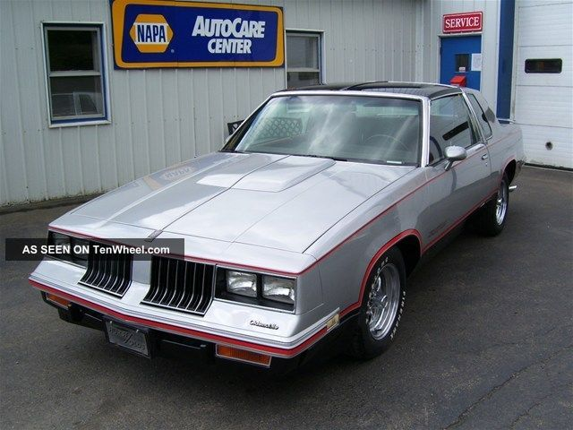 1984 Hurst Olds. . .  Lightning Rod Shifter Cutlass photo