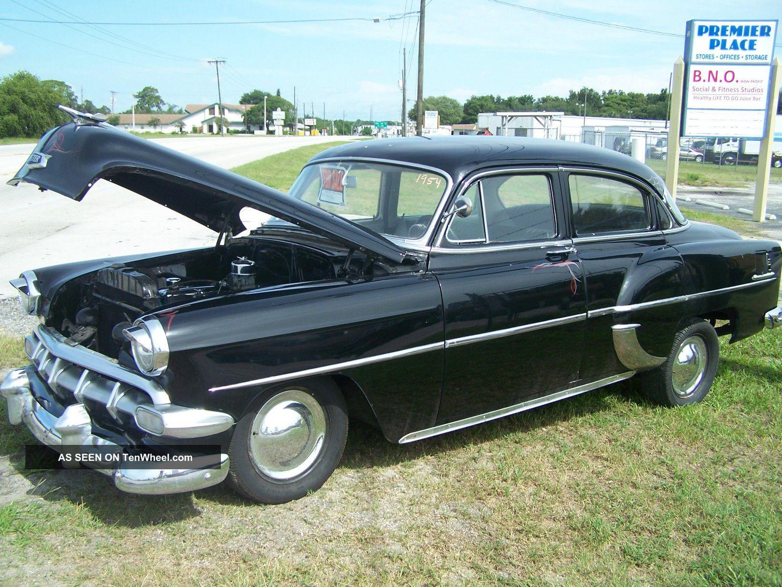 1954 Chevy Bel Air Custom