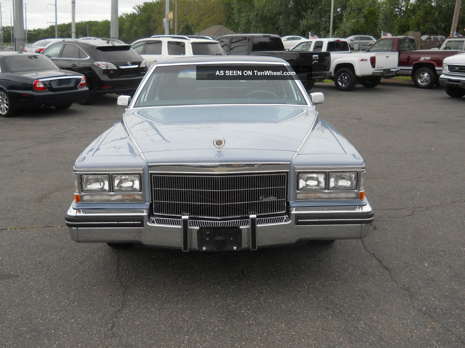 1983 cadillac fleetwood brougham d 39 elegance fleetwood photo 8. Cars Review. Best American Auto & Cars Review