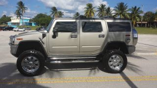 Pewter Metallic 2006 H2 Hummer photo