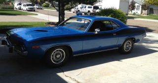 1973 Plymouth Cuda photo