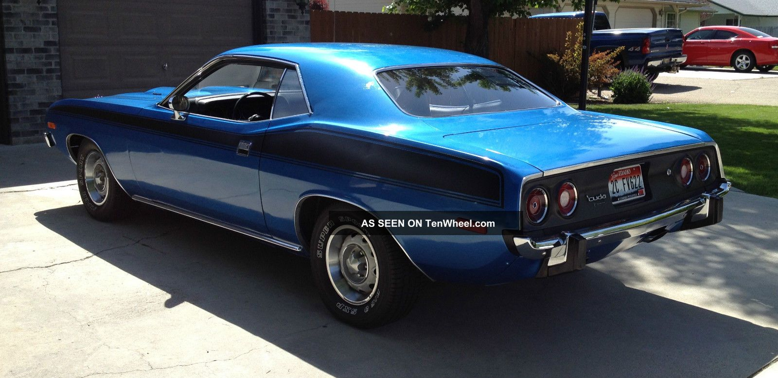 ... 1973 Plymouth Cuda Barracuda photo 4