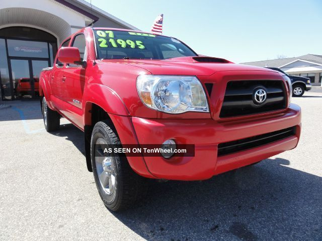 2007 Toyota Tacoma Double Cab 4x4 With Trd Package Tacoma photo