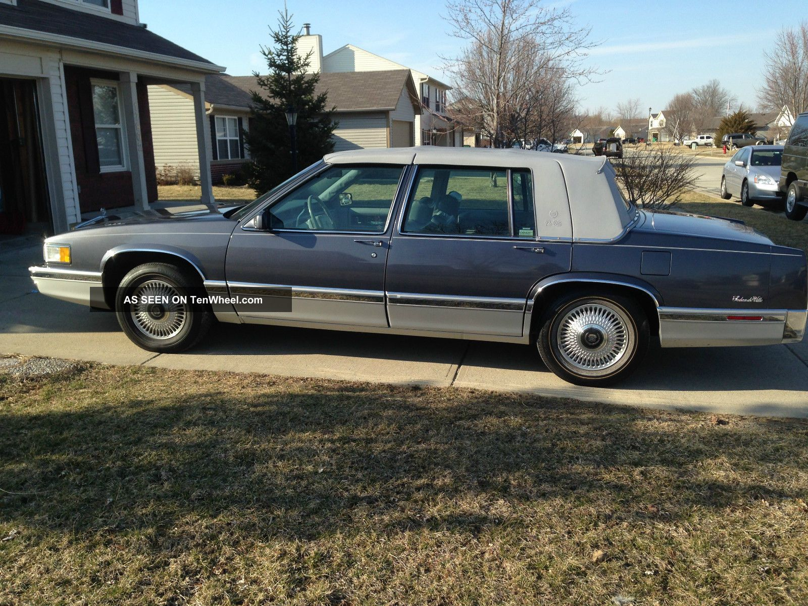 1991 cadillac deville base sedan 4 door 4 9l. Cars Review. Best American Auto & Cars Review