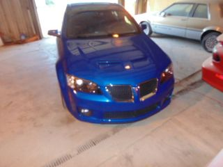 2009 Pontiac G8 Gxp 6.  2 Ls3 Auto Automatic Blue Metallic 1 Of 35 photo