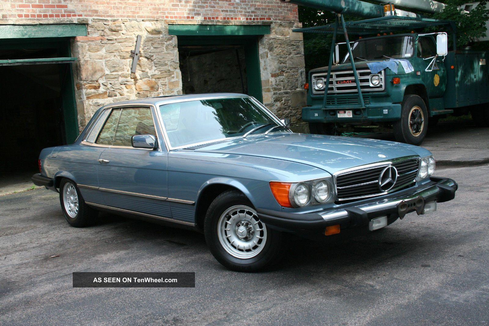 1979 mercedes 450 slc for Mercedes benz 1979