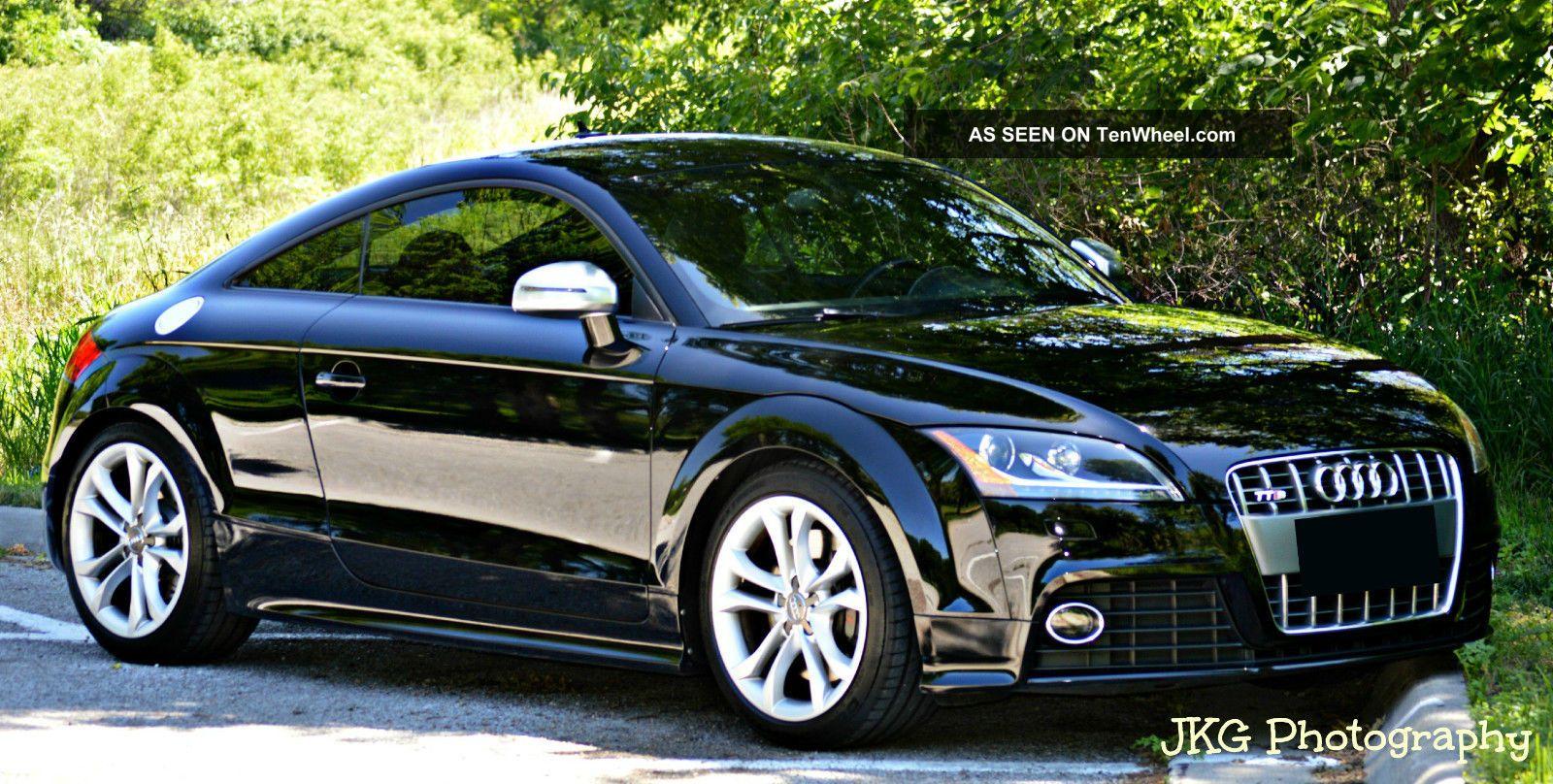 2009 Audi Tt Quattro S Coupe 2 - Door 2.  0l TT photo