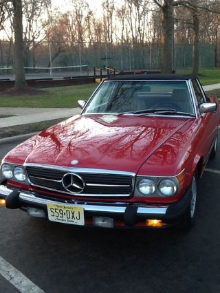 1988 Mercedes Benz 560sl photo