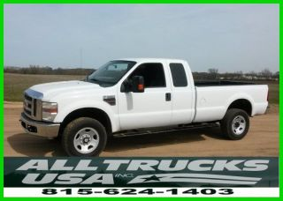 2009 Ford F350 4x4 Extended Cab Pickup,  6.  4l Powerstroke Turbo Diesel,  Automatic photo