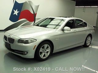 2012 Bmw 528i Premium Turbo 26k Mi Texas Direct Auto photo