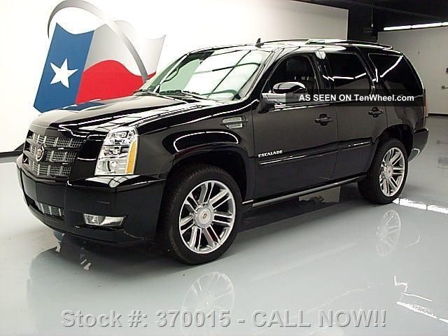 2013 Cadillac Escalade Premium Awd 345 Mi Texas Direct Auto Escalade photo