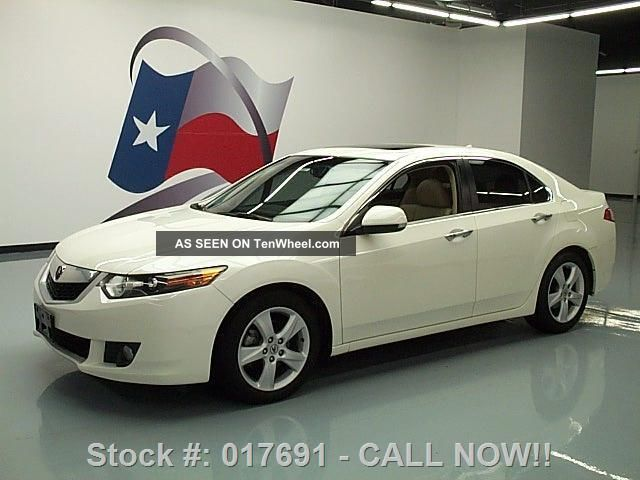 2009 Acura Tsx Tech 56k Mi Texas Direct Auto TSX photo