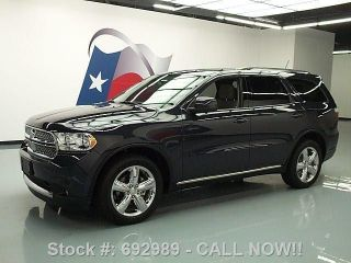 2013 Dodge Durango Sxt 7 - Pass Third Row 20  Wheels 7k Texas Direct Auto photo