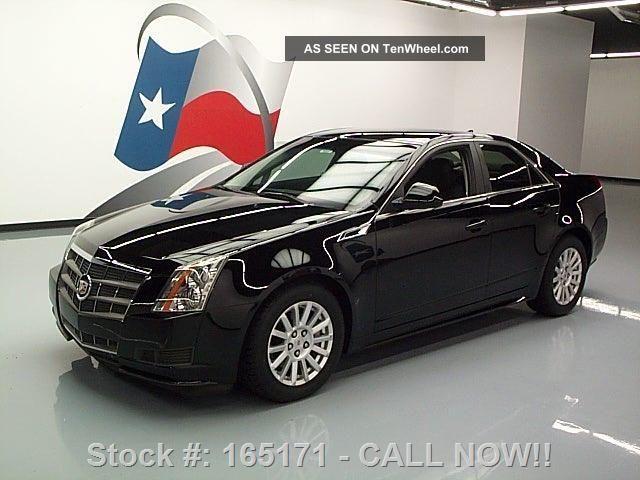 2011 Cadillac Cts 3.  0l Sedan Bose Audio 24k Mi Texas Direct Auto CTS photo