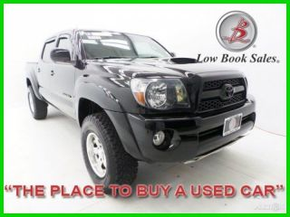 2011 Tacoma Black V6 4l V6 24v Manual 4x4 4wd Pickup Truck Abs photo