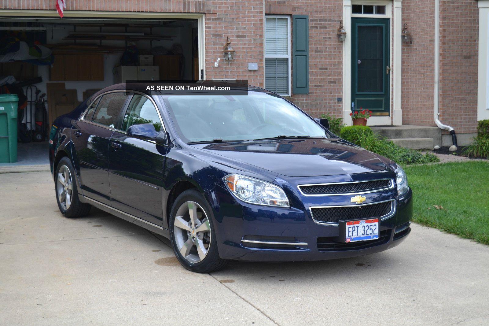 2011 Chevrolet Malibu Lt Sedan 4 Door 2 4l