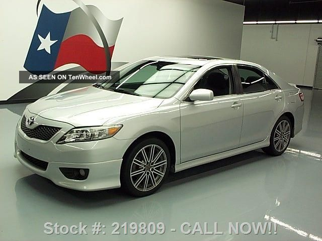 2011 Toyota Camry Se Auto Ground Effects 45k Mi Texas Direct Auto Camry photo