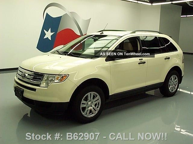 2007 Ford Edge Se 3.  5l V6 Cruise Ctrl Alloy Wheels 89k Texas Direct Auto Edge photo