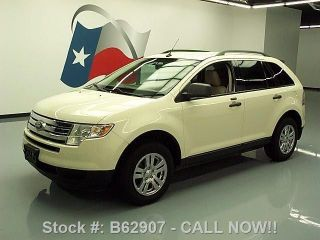 2007 Ford Edge Se 3.  5l V6 Cruise Ctrl Alloy Wheels 89k Texas Direct Auto photo