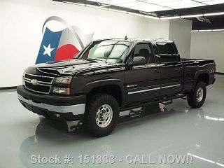 2006 Chevy Silverado 2500 Lt Crew 4x4 Side Steps 62k Mi Texas Direct Auto photo