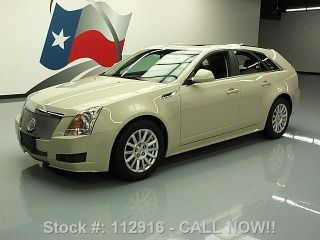 2011 Cadillac Cts 3.  0 Lux Wagon Pano Roof 64k Texas Direct Auto photo
