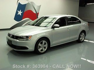 2012 Volkswagen Jetta Tdi Diesel Auto 13k Texas Direct Auto photo