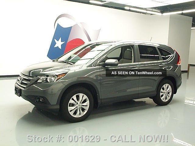 2013 Honda Cr - V Ex - L Htd 29k Texas Direct Auto CR-V photo