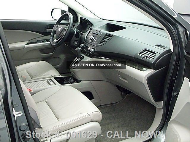 2013 honda cr v ex l htd 29k texas direct auto for Honda cr v 2013 interior
