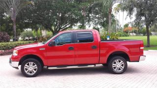 2006 Ford F150 Xlt Supercrew Cab 4x4 5.  4l V8 For photo