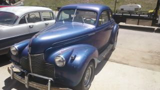 1940 Chevy Special Deluxe Coupe Hot Rod Rat Rod Barn Find photo
