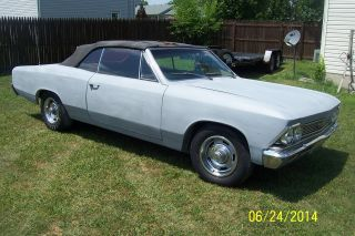 1966 Chevy Chevelle Malibu Ss Clone Cruiser Matching Numbers Runs And Drives photo